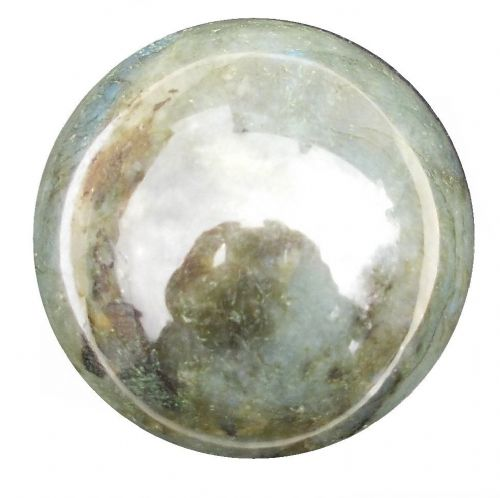 Labradorite Crystal Ball Scrying Divination Fortune Telling Sphere 57mm 260g LA10